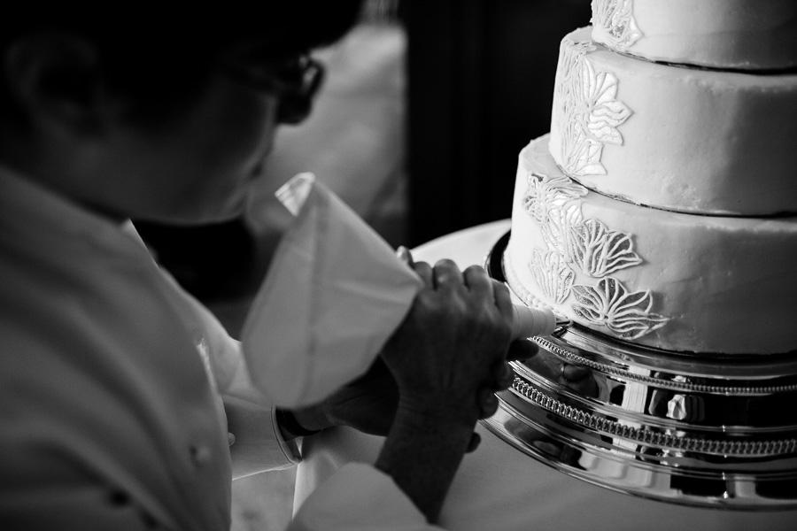 handgemaakte trouwtaart
