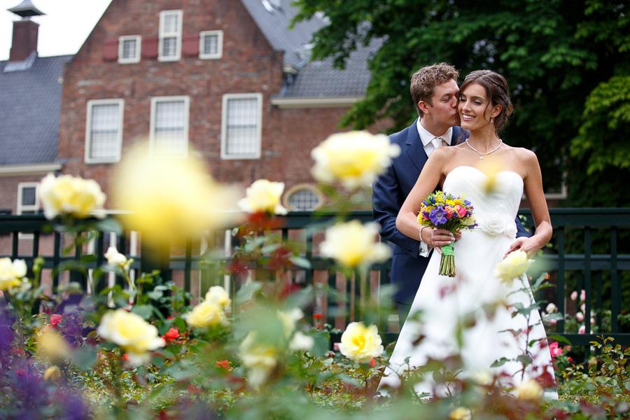 trouwfotografie bruidsfotografie Groningen Paalkoepel en Pepergasthuiskerk 10