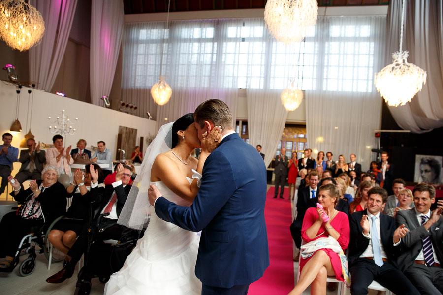 032Bruidsfotografie Noordwijk Huis ter Duin en Klooster trouwfotograaf Evert Doorn