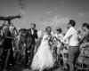 spontane trouwfoto's vuurtoreneiland