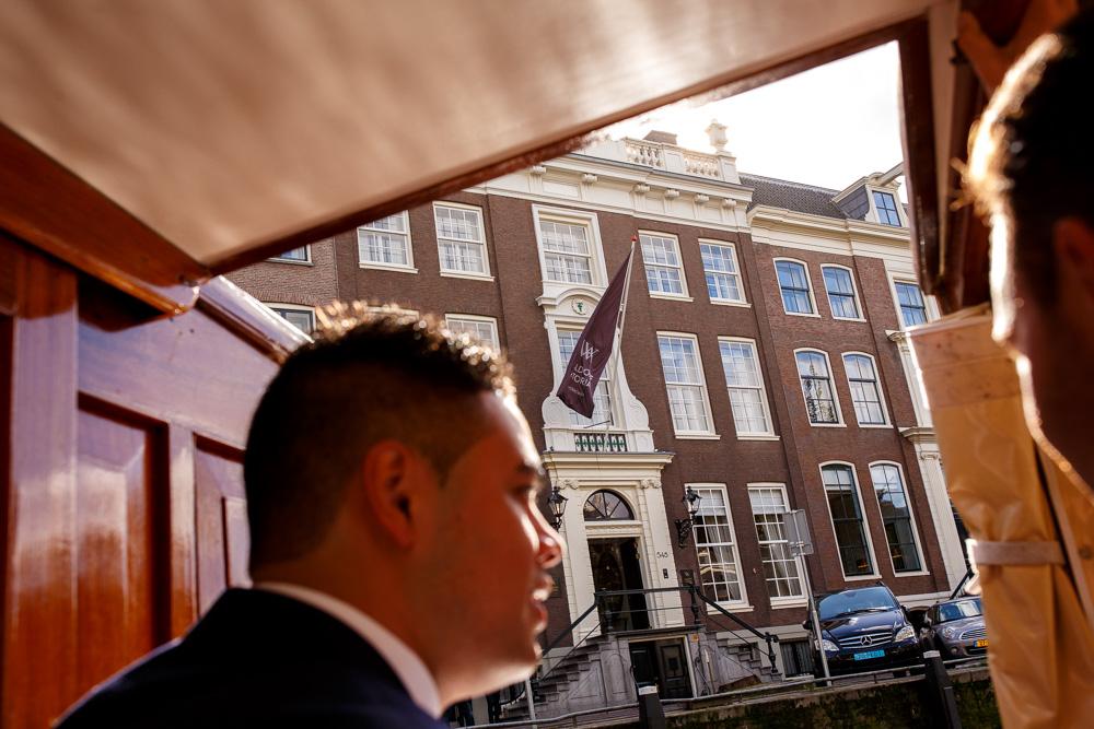 trouwfotografie bruidsfotografie Waldorf Astoria Amsterdam Trouwfotograaf Evert Doorn 02