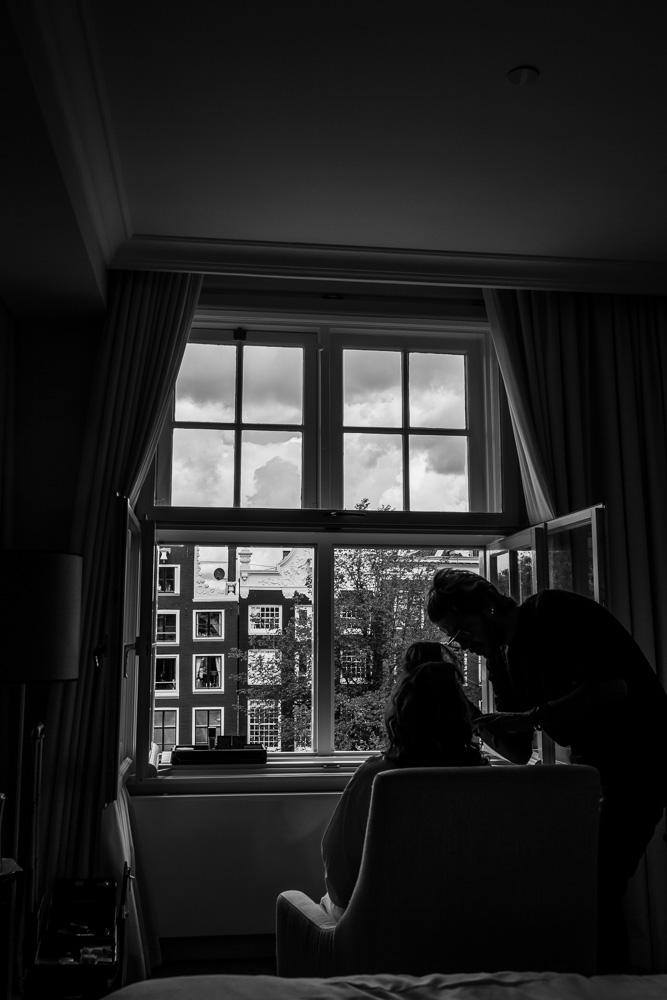 trouwfotografie bruidsfotografie Waldorf Astoria Amsterdam Trouwfotograaf Evert Doorn 04