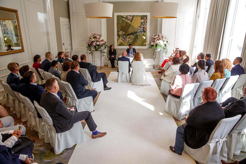 trouwfotografie bruidsfotografie Waldorf Astoria Amsterdam Trouwfotograaf Evert Doorn 06
