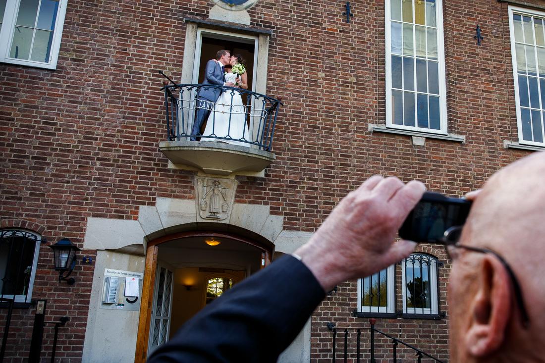 trouwfotograaf bruidsfotograaf oude gemeentehuis Huizen