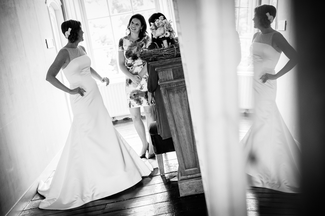 bruiloft landgoed Waterland trouwfotografie Evert Doorn 03