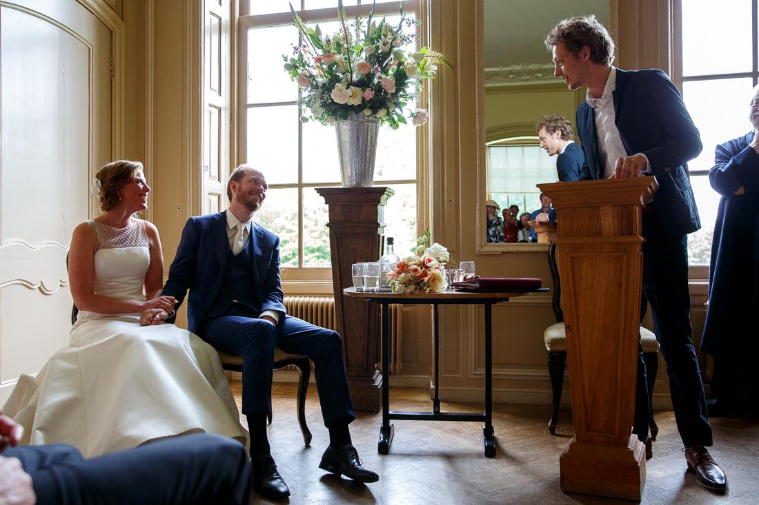 bruiloft landgoed Waterland trouwfotografie Evert Doorn 12