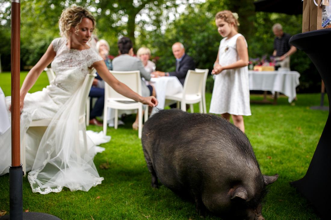 trouwfotografie bruidsfotografie Limburg Kasteeltje Hattem 23